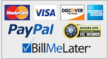 We accept all major credit cards including PayPal and Bill Me Later for all NET10 Phones